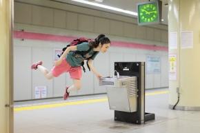 Natsumi Hayashi isweightless