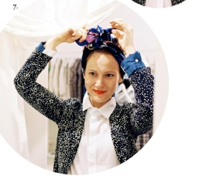 Turban Tying Tute with Julia of Dagmar Rousset